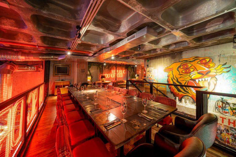 Mesa Grupos Restaurante Bang Cook