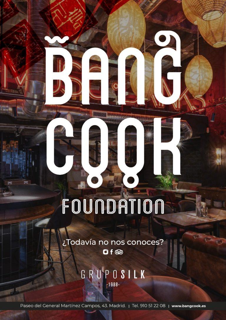Cartel Restaurante Grupo Silk Bang Cook Foundation