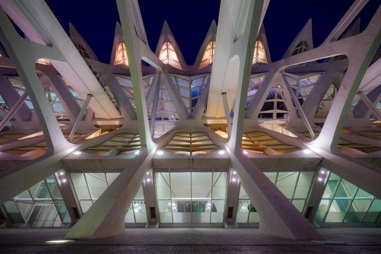 Ciudad Artes Valencia Detalle