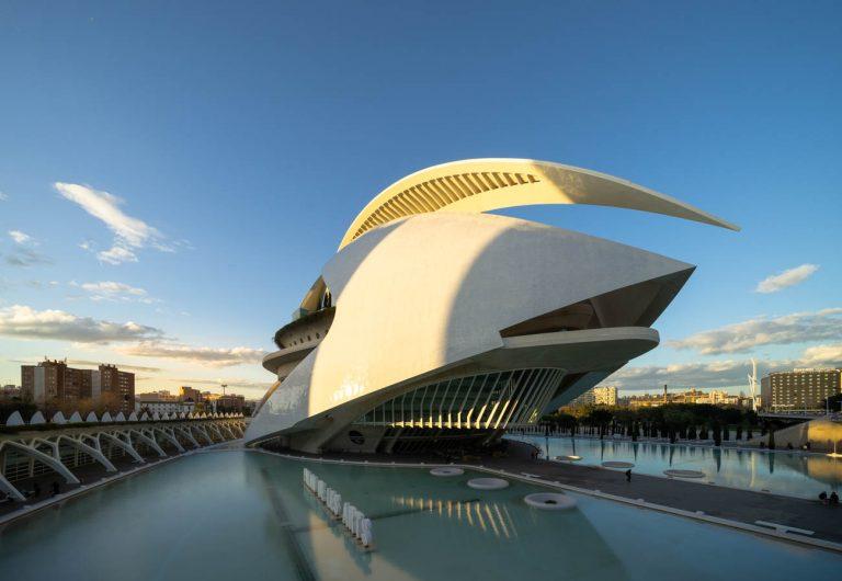 Ciudad Artes Valencia Santiago Calatrava
