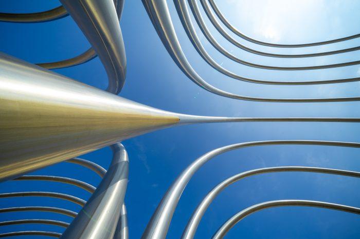 Arcos Avenida Ilustración Madrid foto creativa