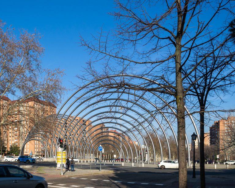Arcos Avenida Ilustración Madrid