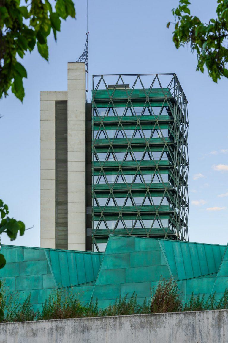 Edificio Alto Museo Ciencia Valladolid Arquitecto Moneo Teresa