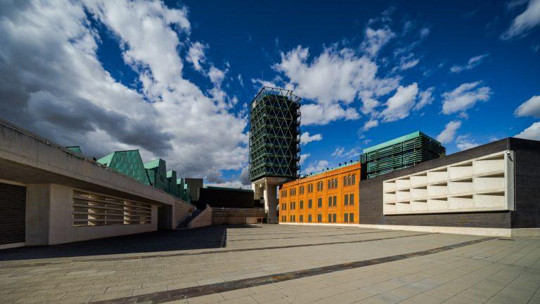 Plaza Museo Ciencia Valladolid Arquitecto Moneo Teresa