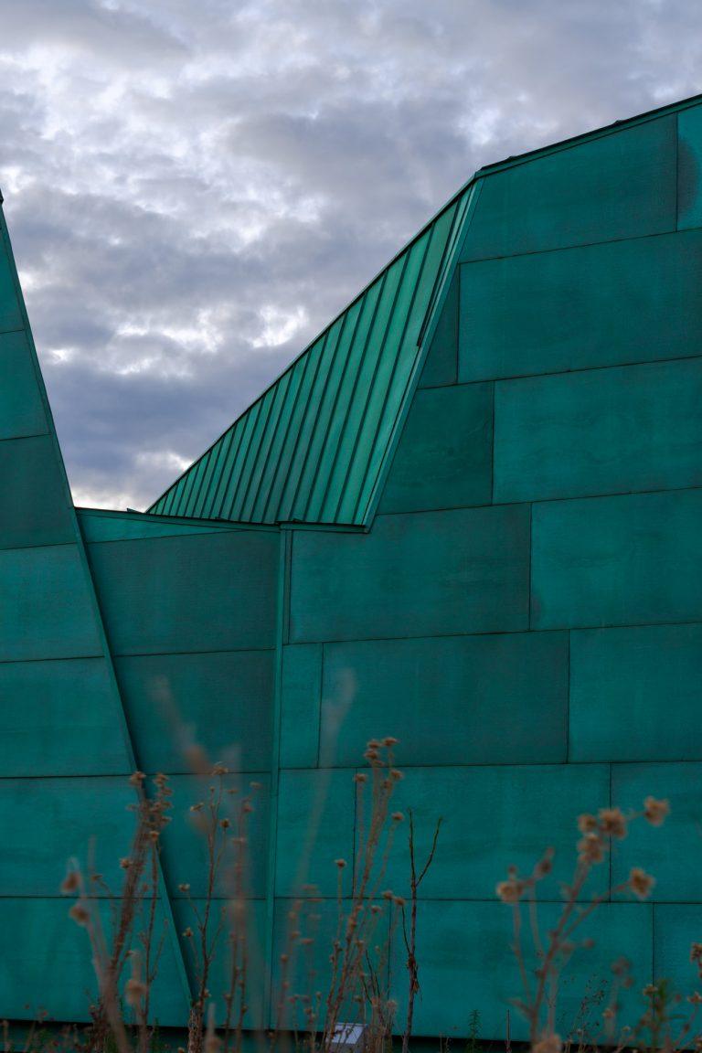 Detalle exterior Museo Ciencia Valladolid Moneo Teresa
