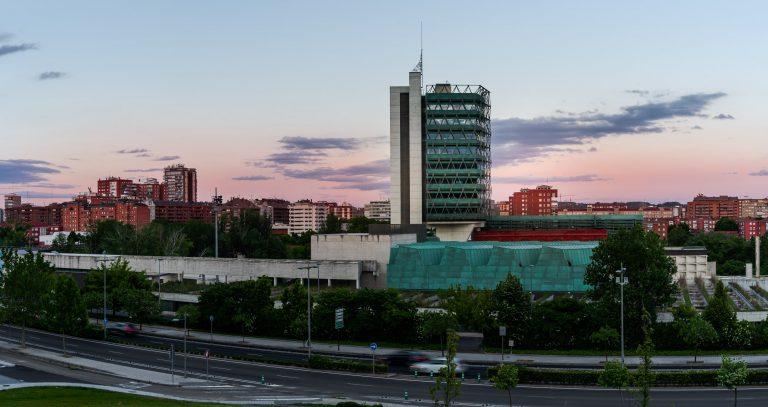 Museo Ciencia Valladolid Moneo Teresa vista general