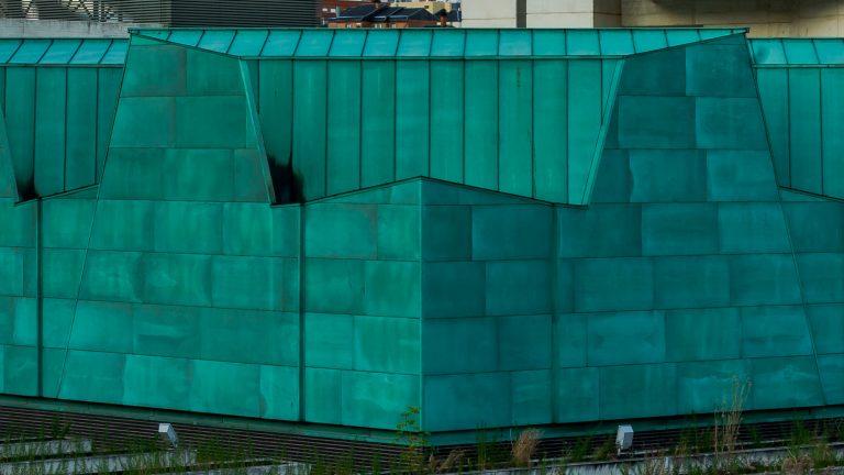 Detalle Material Verde Museo Ciencia Valladolid