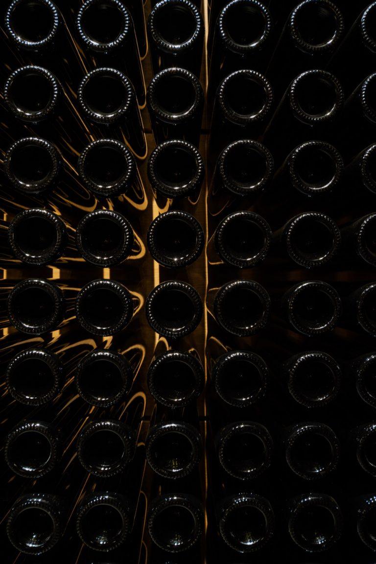 Botelleros y Botellas Vino Bodega Portia Norman Foster