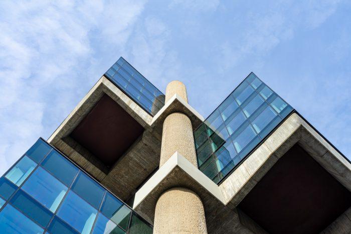 Edificio Los Cubos Madrid exterior