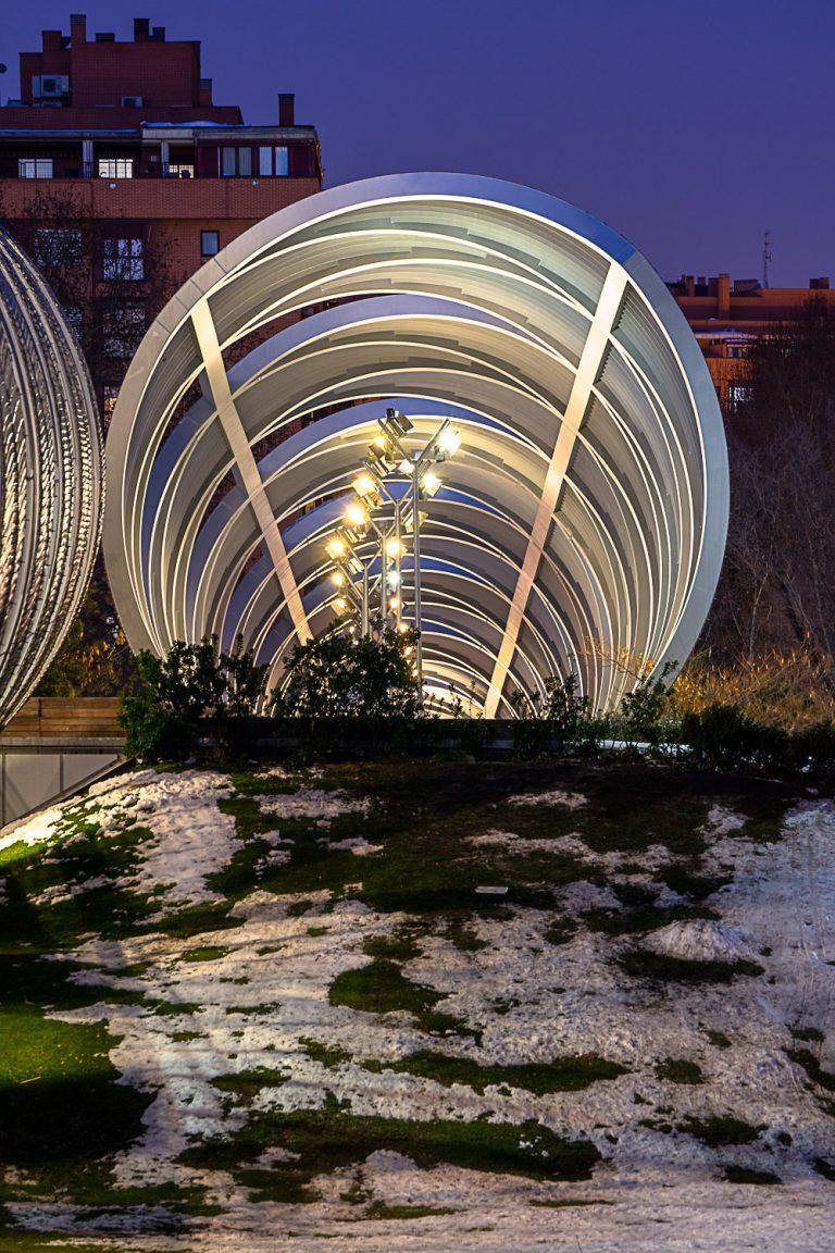 Detalle Puente Perrault Madrid
