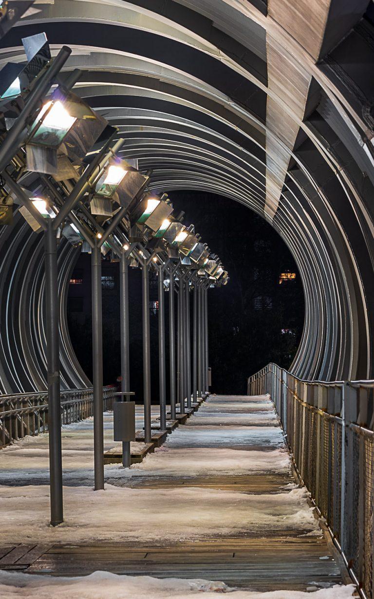 Interior Puente Perrault Madrid