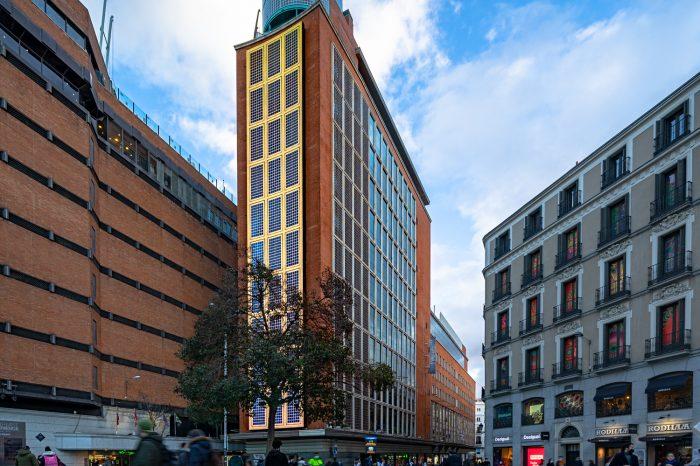 Edificio FNAC Callao Luis Gutiérrez Soto