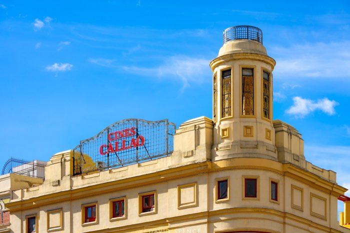 Cartel Cines Callao