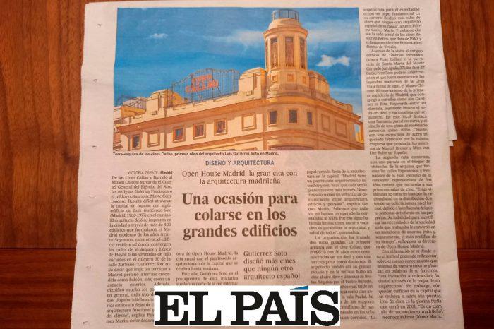 Artículo periódico El País